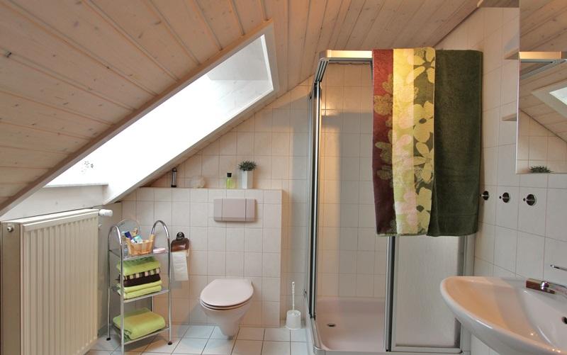 Bad Dusche Ferienwohnung Stinneshof