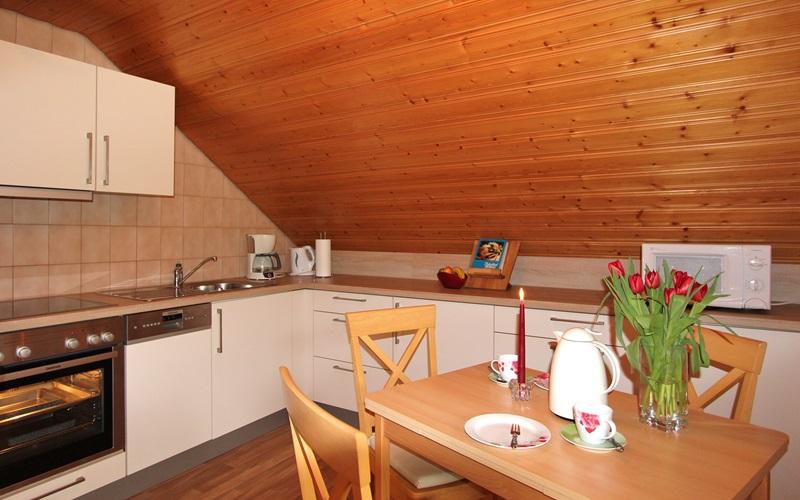 Küche Ferienwohnung Stinneshof Oberharmersbach