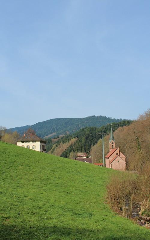 Kapelle in Zuwald Oberharmersbach