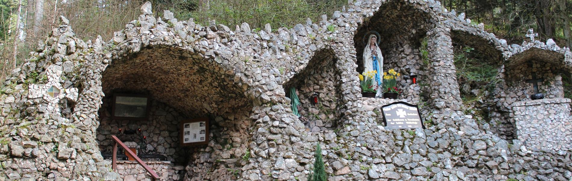 Lourdes Grotte Ferienwohnung Stinneshof
