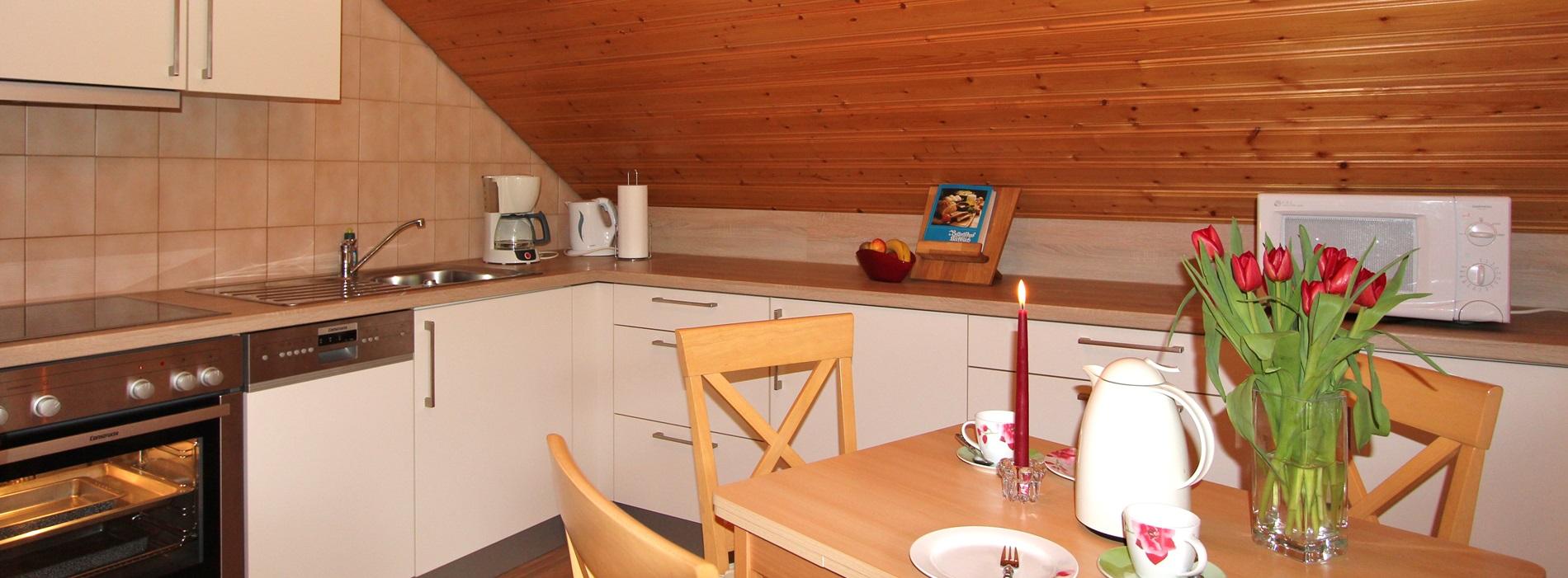 Küche Ferienwohnung Stinneshof Schwarzwald