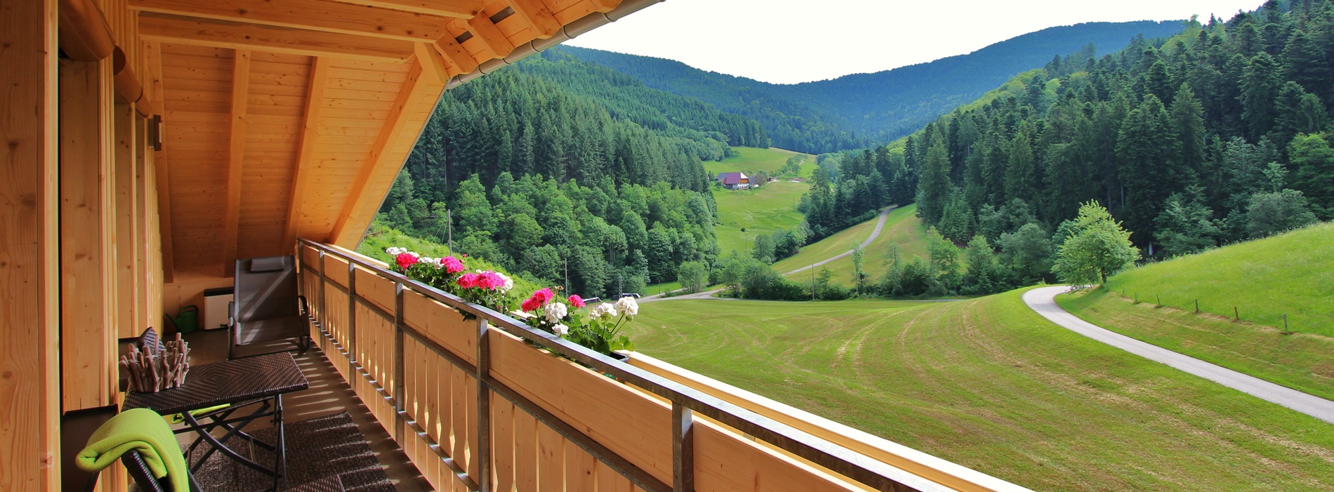 Balkon Stinneshof Oberharmesbach