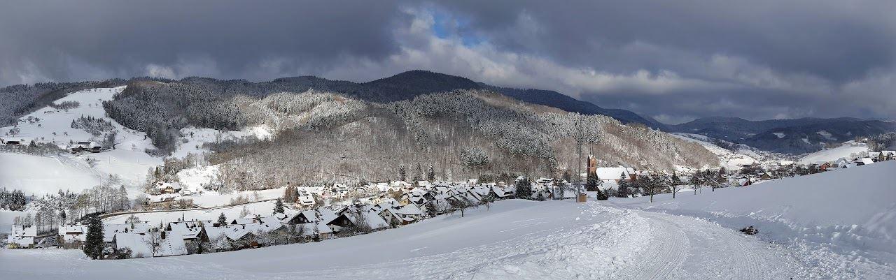 Winter in Oberharmersbach